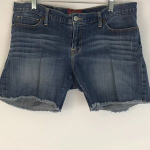 Lucky Brand Jean cut off shorts size 12